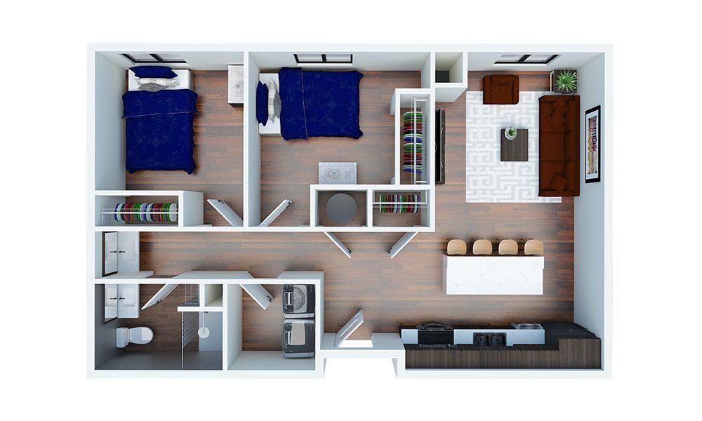 floorplan map
